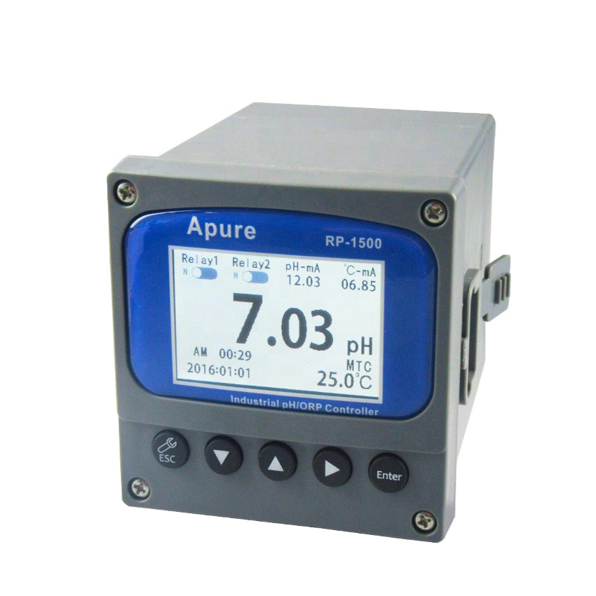 ph orp meter controller for water treatment