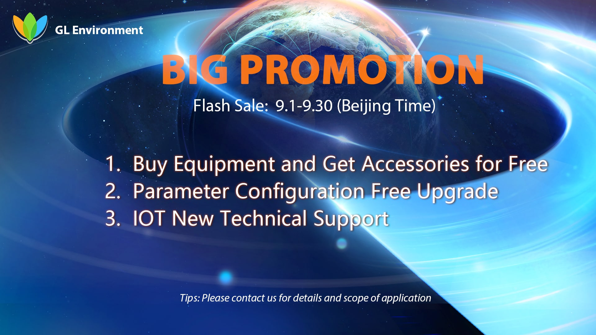 2021 Super September Big Promotion is Here, Buy Equipment and Get Accessories for Free  Parameter Configuration Free Upgrade  IOT New Technical Support.