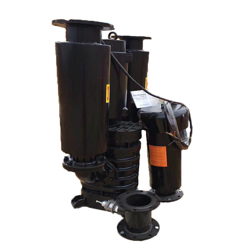Submerged aeration roots blower